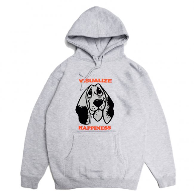 <img class='new_mark_img1' src='https://img.shop-pro.jp/img/new/icons5.gif' style='border:none;display:inline;margin:0px;padding:0px;width:auto;' />QUASI HAPPINESS HOODIE / HEATHER GREY (クアジ パーカー フーディー)