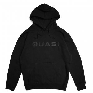 <img class='new_mark_img1' src='https://img.shop-pro.jp/img/new/icons5.gif' style='border:none;display:inline;margin:0px;padding:0px;width:auto;' />QUASI EURO HOODIE / BLACK (クアジ パーカー フーディー)