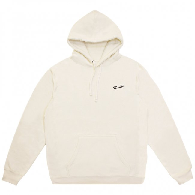 <img class='new_mark_img1' src='https://img.shop-pro.jp/img/new/icons5.gif' style='border:none;display:inline;margin:0px;padding:0px;width:auto;' />HORRIBLE'S SIGNATURE LOGO PREMIUM HOODED SWEAT SHIRT /CREAM (ホリブルズ パーカー スウェット)