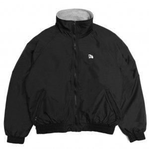 <img class='new_mark_img1' src='https://img.shop-pro.jp/img/new/icons5.gif' style='border:none;display:inline;margin:0px;padding:0px;width:auto;' />HORRIBLE'S CRY FACE NYLON FLEECE JACKET / BLACK (ホリブルズ ナイロン フリース ジャケット)