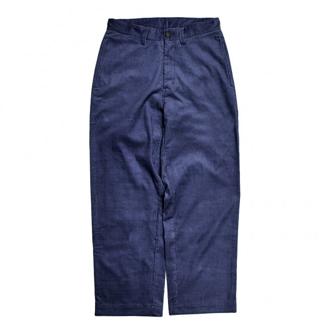 <img class='new_mark_img1' src='https://img.shop-pro.jp/img/new/icons5.gif' style='border:none;display:inline;margin:0px;padding:0px;width:auto;' />SAYHELLO WORK CORDUROY PANTS WIDE-FIT / NAVY (セイハロー ワークコーデュロイパンツ)