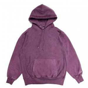 <img class='new_mark_img1' src='https://img.shop-pro.jp/img/new/icons5.gif' style='border:none;display:inline;margin:0px;padding:0px;width:auto;' />SAYHELLO CASH LOGO EMBROIDERY PIGMENT DYED HEAVY HOODIE / DEEP PURPLE (セイハロー パーカー/スウェット)