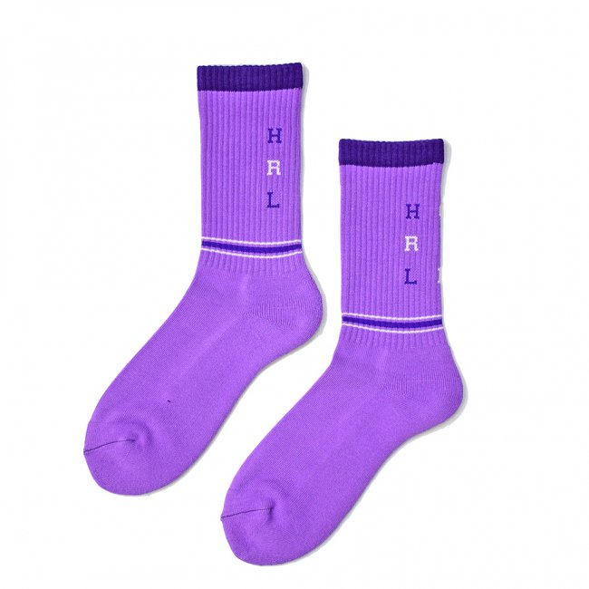 <img class='new_mark_img1' src='https://img.shop-pro.jp/img/new/icons5.gif' style='border:none;display:inline;margin:0px;padding:0px;width:auto;' />HORRIBLE'S MONO SOCKS / LAVENDER (ホリブルズ ソックス)