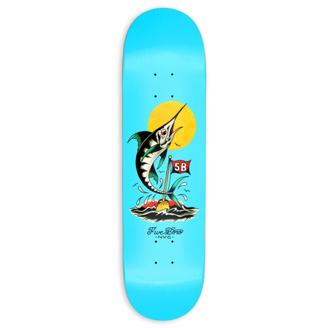 <img class='new_mark_img1' src='https://img.shop-pro.jp/img/new/icons5.gif' style='border:none;display:inline;margin:0px;padding:0px;width:auto;' />5BORO MANHATTAN MARLIN DECK / 8.0 X 32
