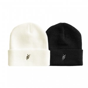 <img class='new_mark_img1' src='https://img.shop-pro.jp/img/new/icons5.gif' style='border:none;display:inline;margin:0px;padding:0px;width:auto;' />5BORO NY LOGO BEANIE (ファイブボロ ビーニー/ニットキャップ)