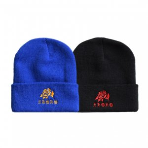 <img class='new_mark_img1' src='https://img.shop-pro.jp/img/new/icons5.gif' style='border:none;display:inline;margin:0px;padding:0px;width:auto;' />5BORO ROSE BEANIE / (ファイブボロ ビーニー/ニットキャップ)