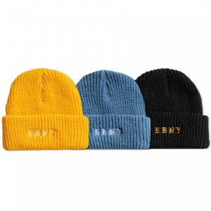 <img class='new_mark_img1' src='https://img.shop-pro.jp/img/new/icons5.gif' style='border:none;display:inline;margin:0px;padding:0px;width:auto;' />5BORO 5BNY BEANIE / (ファイブボロ ビーニー/ニットキャップ)