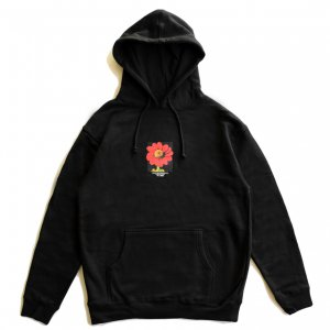 <img class='new_mark_img1' src='https://img.shop-pro.jp/img/new/icons5.gif' style='border:none;display:inline;margin:0px;padding:0px;width:auto;' />5BORO FLOWER PULLOVER HOODIE / BLACK (ファイブボロ/パーカー)