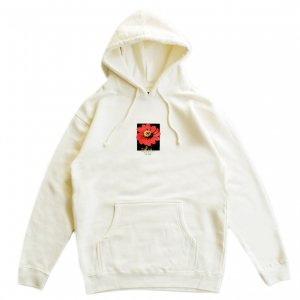 <img class='new_mark_img1' src='https://img.shop-pro.jp/img/new/icons5.gif' style='border:none;display:inline;margin:0px;padding:0px;width:auto;' />5BORO FLOWER PULLOVER HOODIE / BONE WHITE (ファイブボロ/パーカー)