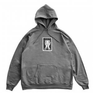 <img class='new_mark_img1' src='https://img.shop-pro.jp/img/new/icons5.gif' style='border:none;display:inline;margin:0px;padding:0px;width:auto;' />CASTLE HOODIE / CHACOAL (キャッスル スウェット/フーディ)