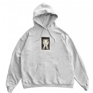 <img class='new_mark_img1' src='https://img.shop-pro.jp/img/new/icons5.gif' style='border:none;display:inline;margin:0px;padding:0px;width:auto;' />CASTLE HOODIE / HEATHER GREY (キャッスル スウェット/フーディ)