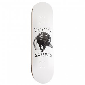 <img class='new_mark_img1' src='https://img.shop-pro.jp/img/new/icons5.gif' style='border:none;display:inline;margin:0px;padding:0px;width:auto;' />DOOMSAYERS TEAM RIOT HELMET DECK / WHITE