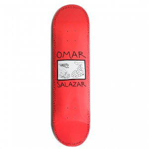 <img class='new_mark_img1' src='https://img.shop-pro.jp/img/new/icons5.gif' style='border:none;display:inline;margin:0px;padding:0px;width:auto;' />DOOMSAYERS OMAR SALAZER SNAKE SHAKE DECK / RED