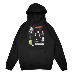 <img class='new_mark_img1' src='https://img.shop-pro.jp/img/new/icons5.gif' style='border:none;display:inline;margin:0px;padding:0px;width:auto;' />HOCKEY SUMMONED HOODIE / BLACK (ホッキー パーカー/スウェット)