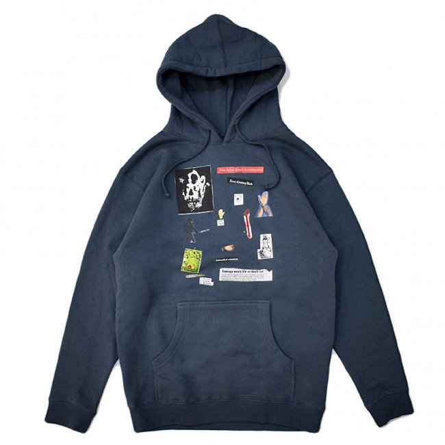 <img class='new_mark_img1' src='https://img.shop-pro.jp/img/new/icons5.gif' style='border:none;display:inline;margin:0px;padding:0px;width:auto;' />HOCKEY SUMMONED HOODIE / SLATE BLUE (ホッキー パーカー/スウェット)