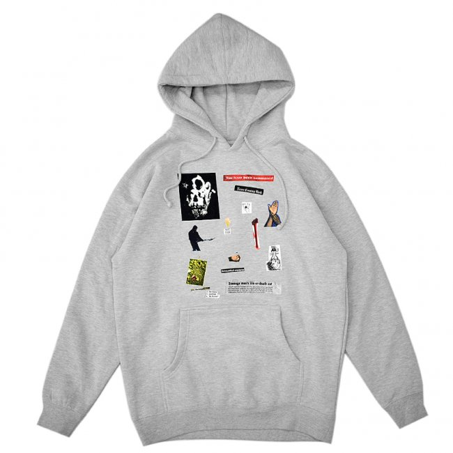 <img class='new_mark_img1' src='https://img.shop-pro.jp/img/new/icons5.gif' style='border:none;display:inline;margin:0px;padding:0px;width:auto;' />HOCKEY SUMMONED HOODIE / GREY HEATHER (ホッキー パーカー/スウェット)