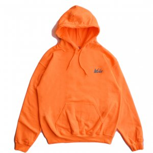 <img class='new_mark_img1' src='https://img.shop-pro.jp/img/new/icons5.gif' style='border:none;display:inline;margin:0px;padding:0px;width:auto;' />DAY LIQUOR STORE WOOD HOODIE / SAFETY ORANGE (デイリカーストアー パーカー/スウェット)