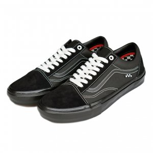 <img class='new_mark_img1' src='https://img.shop-pro.jp/img/new/icons5.gif' style='border:none;display:inline;margin:0px;padding:0px;width:auto;' />VANS SKATE OLD SKOOL / BLACK(バンズ/ヴァンズ スケート オールドスクール スニーカー)