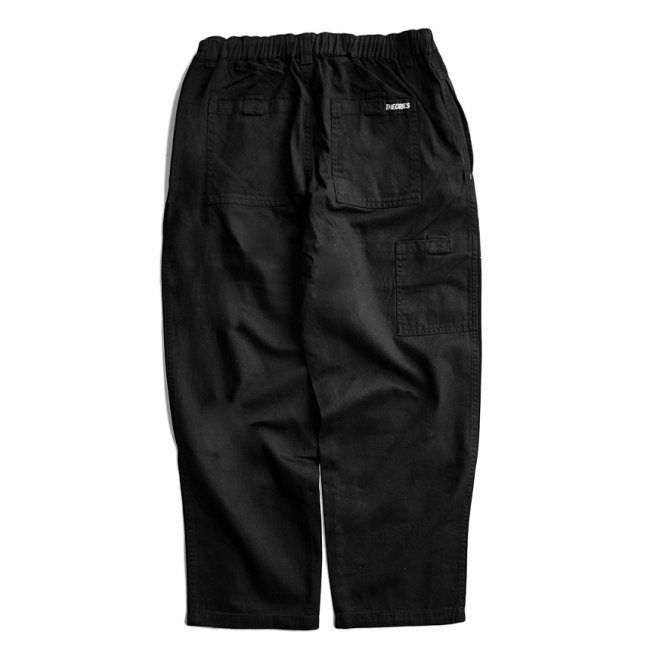 <img class='new_mark_img1' src='https://img.shop-pro.jp/img/new/icons5.gif' style='border:none;display:inline;margin:0px;padding:0px;width:auto;' />THEORIES STAMP LOUNGE PANT / BLACK(セオリーズ イージーパンツ)