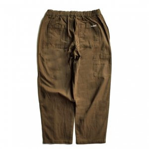 <img class='new_mark_img1' src='https://img.shop-pro.jp/img/new/icons5.gif' style='border:none;display:inline;margin:0px;padding:0px;width:auto;' />THEORIES STAMP LOUNGE PANT / BROWN(セオリーズ イージーパンツ)