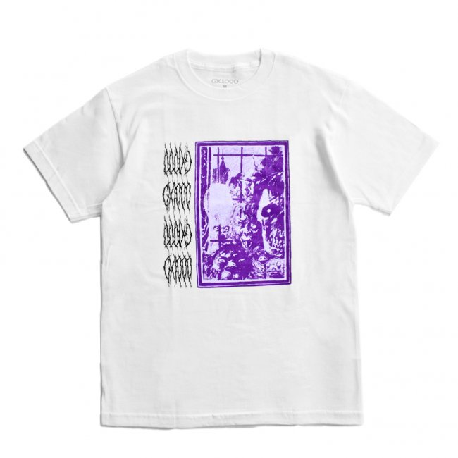 <img class='new_mark_img1' src='https://img.shop-pro.jp/img/new/icons5.gif' style='border:none;display:inline;margin:0px;padding:0px;width:auto;' />GX1000 LAMENT TEE / WHITE (ジーエックスセン Tシャツ / 半袖)