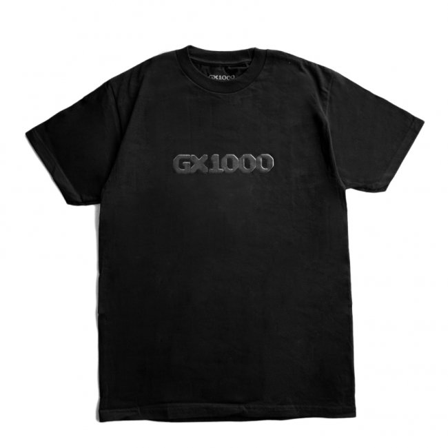 <img class='new_mark_img1' src='https://img.shop-pro.jp/img/new/icons5.gif' style='border:none;display:inline;margin:0px;padding:0px;width:auto;' />GX1000 DITHERED TEE / BLACK (ジーエックスセン Tシャツ / 半袖)