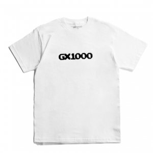 <img class='new_mark_img1' src='https://img.shop-pro.jp/img/new/icons5.gif' style='border:none;display:inline;margin:0px;padding:0px;width:auto;' />GX1000 DITHERED TEE / WHITE (ジーエックスセン Tシャツ / 半袖)