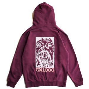 <img class='new_mark_img1' src='https://img.shop-pro.jp/img/new/icons5.gif' style='border:none;display:inline;margin:0px;padding:0px;width:auto;' />GX1000 BIPOLAR HOODIE / MAROON (ジーエックスセン パーカー / スウェット)