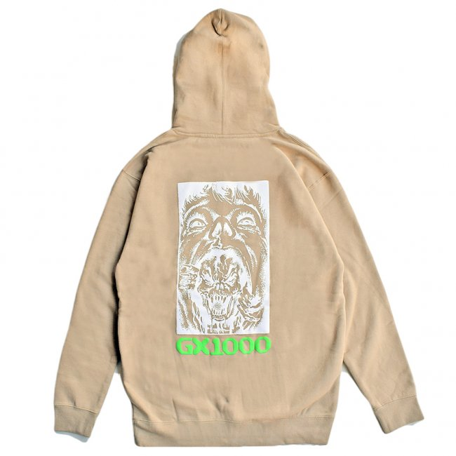 <img class='new_mark_img1' src='https://img.shop-pro.jp/img/new/icons5.gif' style='border:none;display:inline;margin:0px;padding:0px;width:auto;' />GX1000 BIPOLAR HOODIE / SAND STONE (ジーエックスセン パーカー / スウェット)