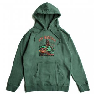 <img class='new_mark_img1' src='https://img.shop-pro.jp/img/new/icons5.gif' style='border:none;display:inline;margin:0px;padding:0px;width:auto;' />GX1000 TOURIST HOODIE / ALPINE GREEN (ジーエックスセン パーカー / スウェット)