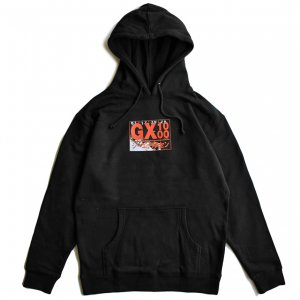<img class='new_mark_img1' src='https://img.shop-pro.jp/img/new/icons5.gif' style='border:none;display:inline;margin:0px;padding:0px;width:auto;' />GX1000 HORROR HOODIE / BLACK (ジーエックスセン パーカー / スウェット)