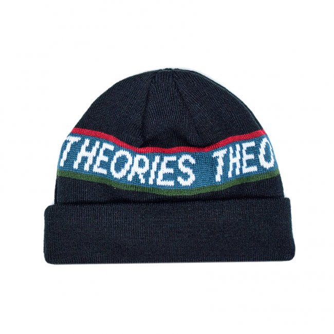 <img class='new_mark_img1' src='https://img.shop-pro.jp/img/new/icons5.gif' style='border:none;display:inline;margin:0px;padding:0px;width:auto;' />THEORIES STAMP BEANIE / DARK NAVY (セオリーズ ビーニー/ニットキャップ)