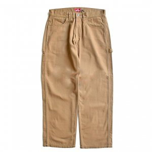 <img class='new_mark_img1' src='https://img.shop-pro.jp/img/new/icons5.gif' style='border:none;display:inline;margin:0px;padding:0px;width:auto;' />HELLRAZOR PLATINUM PAINTER PANTS / BEIGE BROWN (ヘルレイザー デニムペインターパンツ)