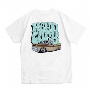 <img class='new_mark_img1' src='https://img.shop-pro.jp/img/new/icons5.gif' style='border:none;display:inline;margin:0px;padding:0px;width:auto;' />HARD LUCK LIL SLEEPY TEE / WHITE (ハードラック Tシャツ)