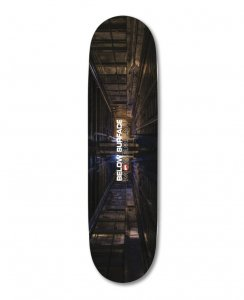 <img class='new_mark_img1' src='https://img.shop-pro.jp/img/new/icons5.gif' style='border:none;display:inline;margin:0px;padding:0px;width:auto;' />HOPPS Skateboards BELOW SURFACE MOVEMENT Deck / 8.0
