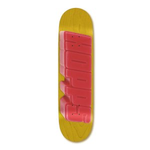 <img class='new_mark_img1' src='https://img.shop-pro.jp/img/new/icons5.gif' style='border:none;display:inline;margin:0px;padding:0px;width:auto;' />HOPPS Skateboards BIGHOPPS WAX Deck / 8.0