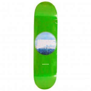 <img class='new_mark_img1' src='https://img.shop-pro.jp/img/new/icons5.gif' style='border:none;display:inline;margin:0px;padding:0px;width:auto;' />HOPPS Skateboards SUN LOGO CITY Deck / 8.0