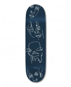 <img class='new_mark_img1' src='https://img.shop-pro.jp/img/new/icons5.gif' style='border:none;display:inline;margin:0px;padding:0px;width:auto;' />HOPPS Skateboards DREAMER Deck / 8.25