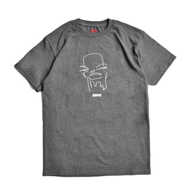 <img class='new_mark_img1' src='https://img.shop-pro.jp/img/new/icons5.gif' style='border:none;display:inline;margin:0px;padding:0px;width:auto;' />HOPPS DREAMER T-SHIRT / CHARCOAL HEATHER (ホップス Tシャツ)