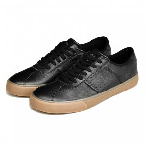 <img class='new_mark_img1' src='https://img.shop-pro.jp/img/new/icons5.gif' style='border:none;display:inline;margin:0px;padding:0px;width:auto;' />STATE FOOTWEAR LELAND BLACK/GUM / FULL GRAIN LEATHER (ステイト フットウエア スケートシューズ)