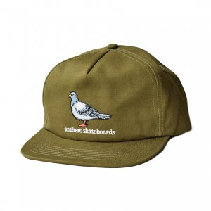 <img class='new_mark_img1' src='https://img.shop-pro.jp/img/new/icons5.gif' style='border:none;display:inline;margin:0px;padding:0px;width:auto;' />ANTIHERO LIL PIGEON 5PANEL CAP / OLIVE (アンチヒーロー/ キャップ)