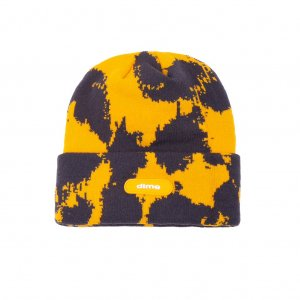 <img class='new_mark_img1' src='https://img.shop-pro.jp/img/new/icons5.gif' style='border:none;display:inline;margin:0px;padding:0px;width:auto;' />DIME SLY BEANIE / YELLOW (ダイム ニットキャップ / ビーニー)