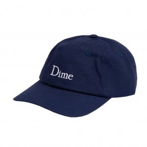 <img class='new_mark_img1' src='https://img.shop-pro.jp/img/new/icons5.gif' style='border:none;display:inline;margin:0px;padding:0px;width:auto;' />DIME CLASSIC CAP / NAVY (ダイム キャップ / 6パネルキャップ)