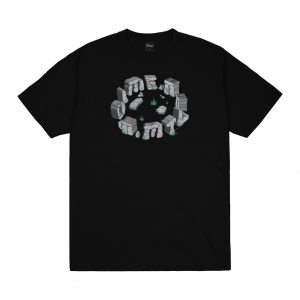 <img class='new_mark_img1' src='https://img.shop-pro.jp/img/new/icons5.gif' style='border:none;display:inline;margin:0px;padding:0px;width:auto;' />DIME STONE T-SHIRT / BLACK (ダイム Tシャツ / 半袖)