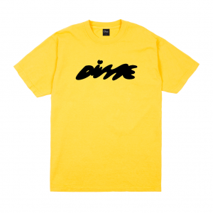 <img class='new_mark_img1' src='https://img.shop-pro.jp/img/new/icons5.gif' style='border:none;display:inline;margin:0px;padding:0px;width:auto;' />DIME BUBBLY T-SHIRT / YELLOW (ダイム Tシャツ / 半袖)