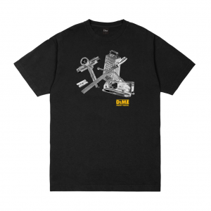 <img class='new_mark_img1' src='https://img.shop-pro.jp/img/new/icons5.gif' style='border:none;display:inline;margin:0px;padding:0px;width:auto;' />DIME TOOLIE T-SHIRT / BLACK (ダイム Tシャツ / 半袖)