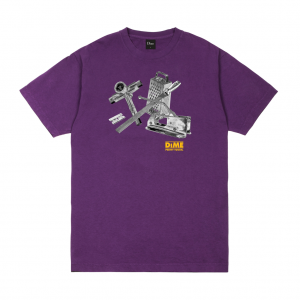 <img class='new_mark_img1' src='https://img.shop-pro.jp/img/new/icons5.gif' style='border:none;display:inline;margin:0px;padding:0px;width:auto;' />DIME TOOLIE T-SHIRT / DARK MAGENTA (ダイム Tシャツ / 半袖)