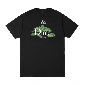 <img class='new_mark_img1' src='https://img.shop-pro.jp/img/new/icons5.gif' style='border:none;display:inline;margin:0px;padding:0px;width:auto;' />DIME PLEIN AIR T-SHIRT / BLACK (ダイム Tシャツ / 半袖)