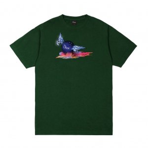 <img class='new_mark_img1' src='https://img.shop-pro.jp/img/new/icons5.gif' style='border:none;display:inline;margin:0px;padding:0px;width:auto;' />DIME AIR BALL T-SHIRT / FOREST (ダイム Tシャツ / 半袖)