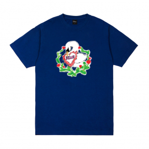 <img class='new_mark_img1' src='https://img.shop-pro.jp/img/new/icons5.gif' style='border:none;display:inline;margin:0px;padding:0px;width:auto;' />DIME SWAN T-SHIRT / NAVY (ダイム Tシャツ / 半袖)